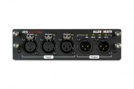 ALLEN&HEATH dLive AES3 I/O 6in/4out