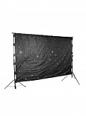 Dragon Effects LED Star Cloth Curtain Tri-color